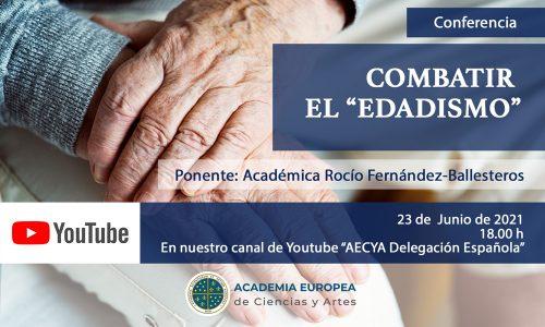 """Combatir el """"edadismo"""" AECYA"""